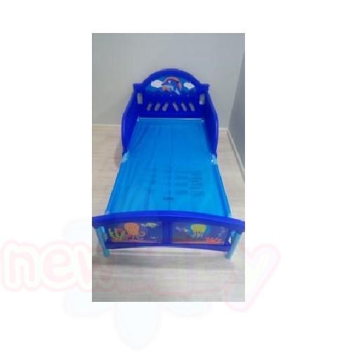Детско легло Ocean с 3D изображение на таблата
