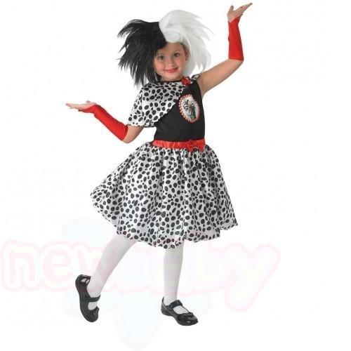 Детски карнавален костюм 101 Далматинци Cruella de ville