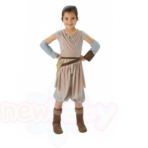 Детски карнавален костюм Rubies STAR WARS Rey