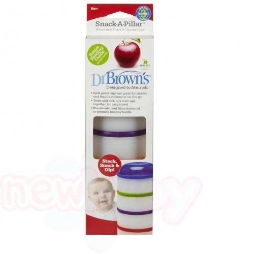 Купички Dr.Brown's за съхранение на храна 4 бр.