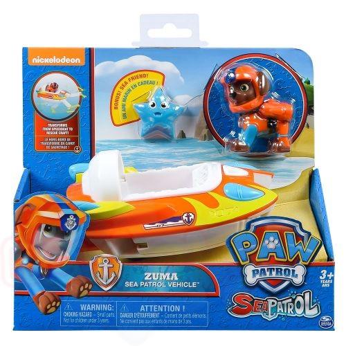 Фигурка с превозно средство Paw Patrol Sea Patrol