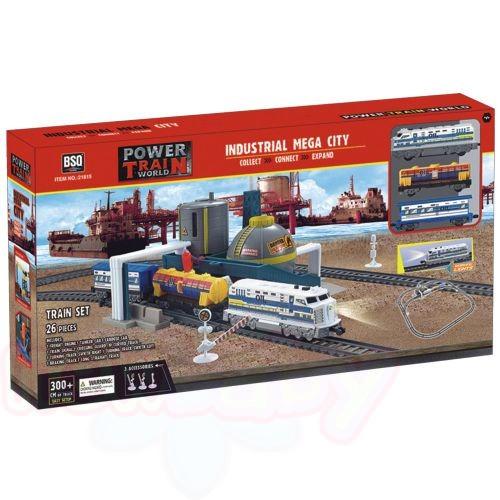 POWER TRAIN Товарен влак с петролна рафинерия