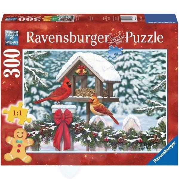 Пъзел Ravensburger Коледна картина