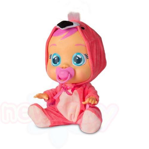 Плачеща кукла с истински сълзи IMC CRYBABIES FANCY FLAMINGO