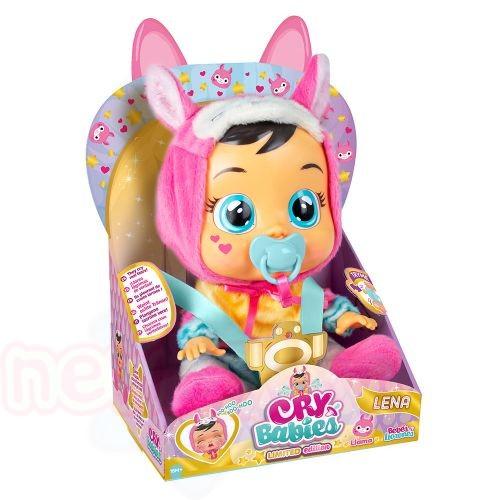Плачеща кукла с истински сълзи IMC CRYBABIES LENA LLAMA