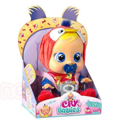 Плачеща кукла с истински сълзи IMC CRYBABIES LORI PARROT