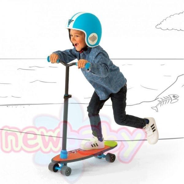 Тротинетка/скейт Chillafish SkatieScootie 2в1