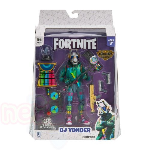 Фигура JW FORTNITE S2 LEGENDARY SERIES DELUXE DJ YONDER