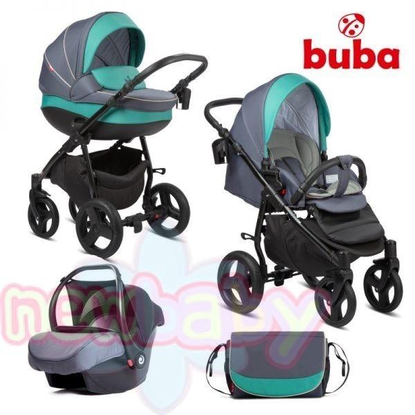 Бебешка количка 3в1 Buba Bella