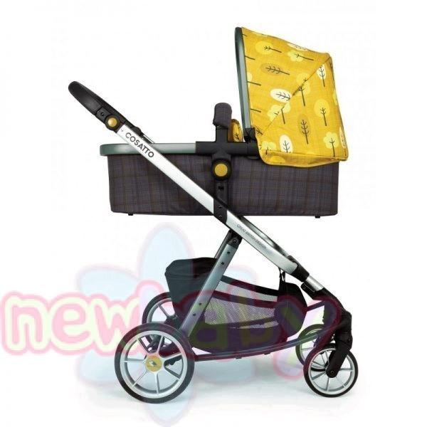 Бебешка количка Cosatto Giggle Quad 3 в 1 SPOT THE BIRDIE