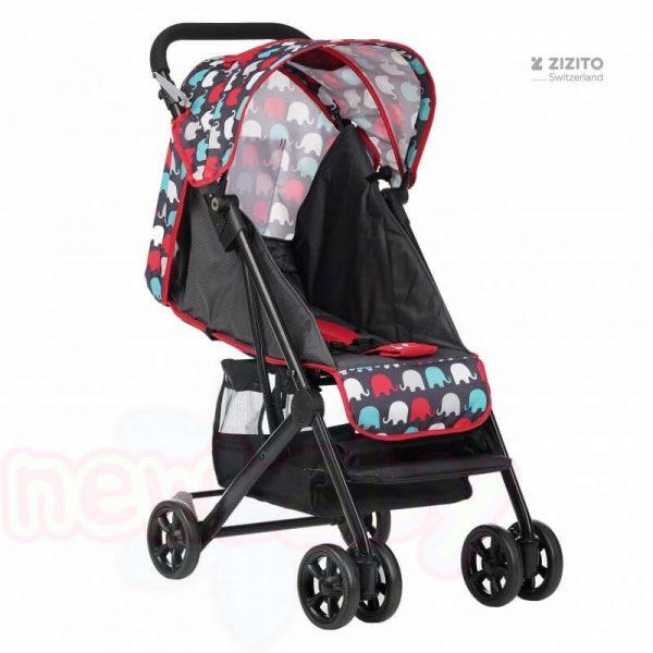 Бебешка количка Jasmin - компактна, лесно сгъваема