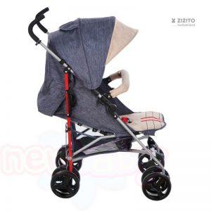 Детска количка CHERYL с швейцарска конструкция и дизайн