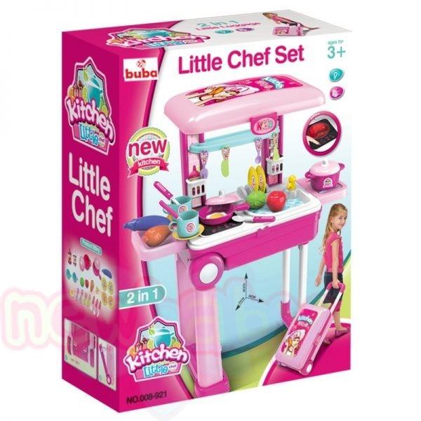 Детска преносима кухня Buba Little Chef в куфар