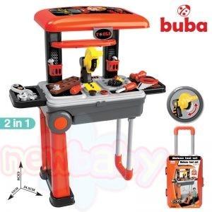 Детска работилница Buba Deluxa Tool Set Червена