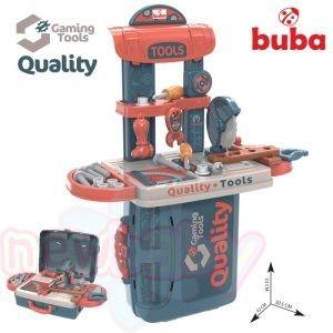 Детски комплект с инструменти Buba Tool Quality в куфар