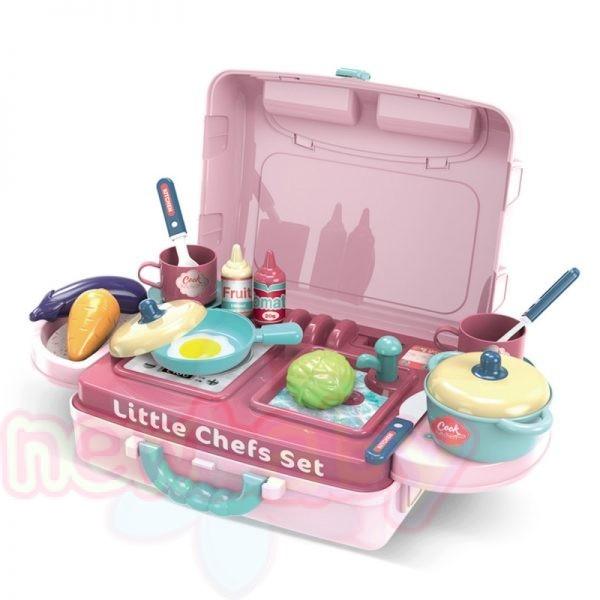 Детски кухненски център Buba в куфар