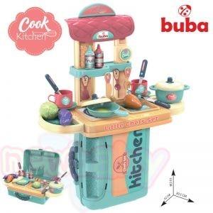 Детски кухненски комплект Buba в куфар Синя